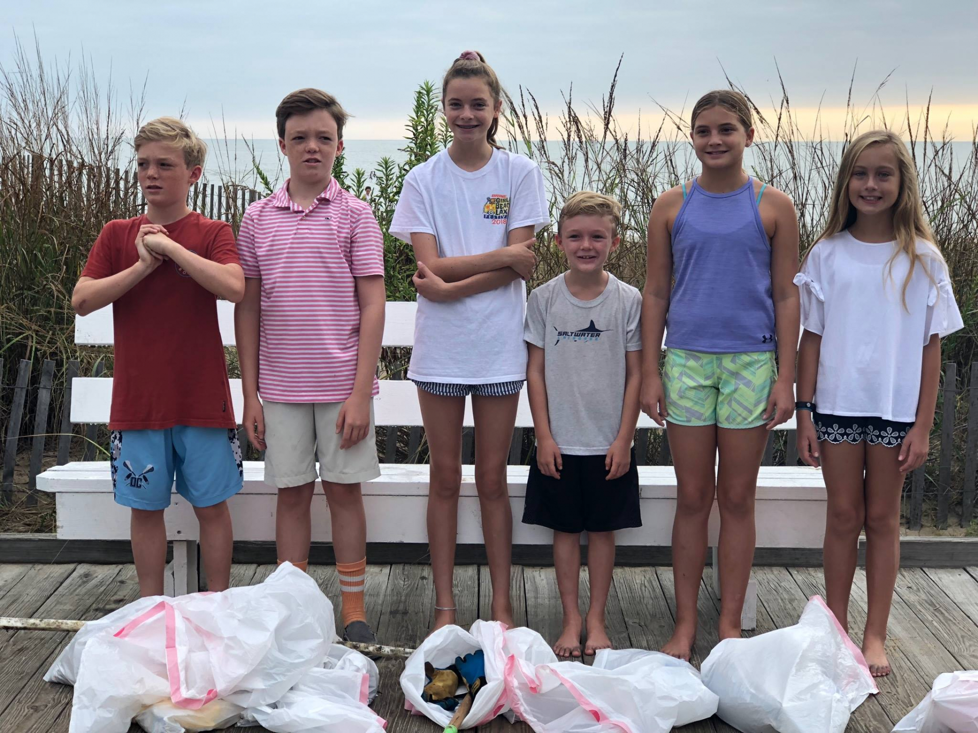 Youth Group Beach Cleanup